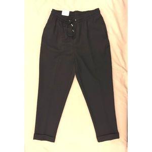 Zara Jogger Suit Pants, Navy